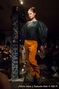 Sarah Anker @ Unfair - Copenhagen fashion week AW 2014