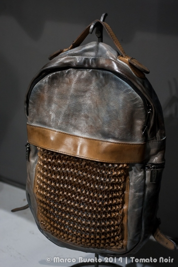 Numero 10 (I) leather backpack